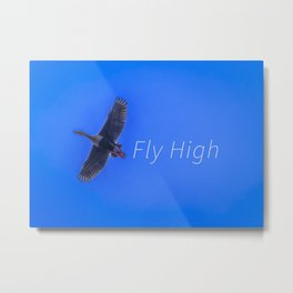 Fly High Concept Photography Metal Print