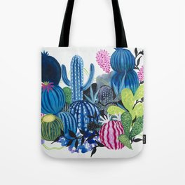Cactus Stacks Tote Bag