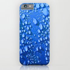 Raindrops on Blue Slim Case iPhone 6s