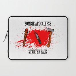 Zombie apocalypse - starter pack Laptop Sleeve