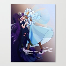 Dance of the Day Canvas Print