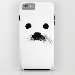 Seal your face iPhone Case