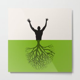 Tree the person Metal Print