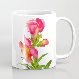 Pink Snapdragon Coffee Mug