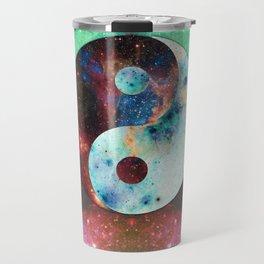 Ying-Yang Galaxy Travel Mug