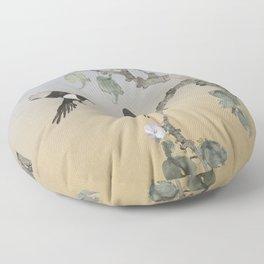 Magpies Floor Pillow