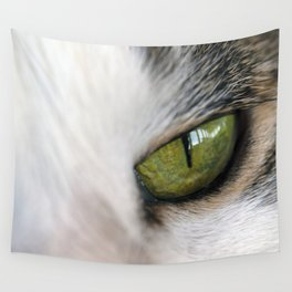 The Eye of the Domesticated Tyger Wall Tapestry