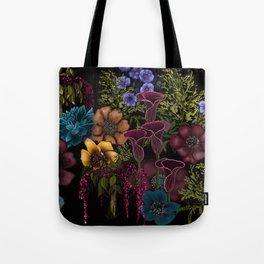 Moody Florals Tote Bag