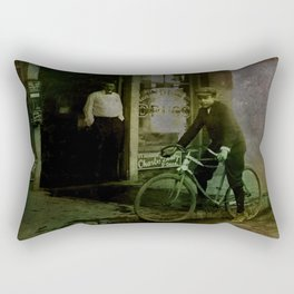 Delivery Boy Rectangular Pillow