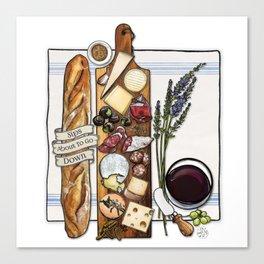 Pardon My French Canvas Print