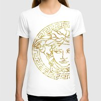 versace T-shirts featuring Medusa by InteriorEpiphanies