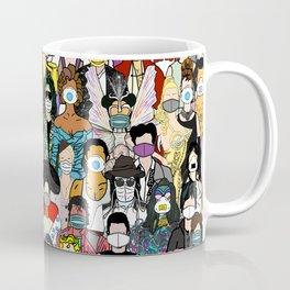 Face Mask Party Coffee Mug