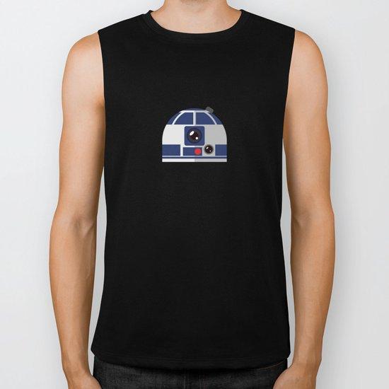 SW R2-D2 The Messenger Biker Tank