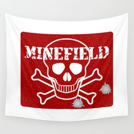Minefield Wall Tapestry