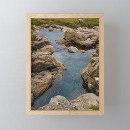 Fairy Pools, Skye Framed Mini Art Print