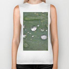 Water Droplets Biker Tank