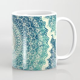 BICOLOR COLD WINTER MANDALA Coffee Mug