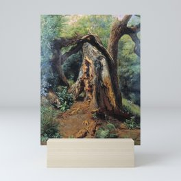 An Old Tree 1859 By Lev Lagorio | Reproduction | Russian Romanticism Painter Mini Art Print