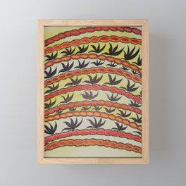 For the Birds Framed Mini Art Print