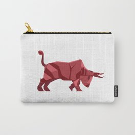 Origami Bull Carry-All Pouch