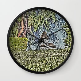 A Middle Ages Church Wall Clock