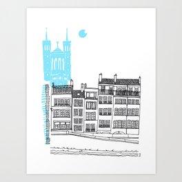 Lyon, France Art Print