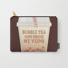 Bubble Tea Veins Carry-All Pouch