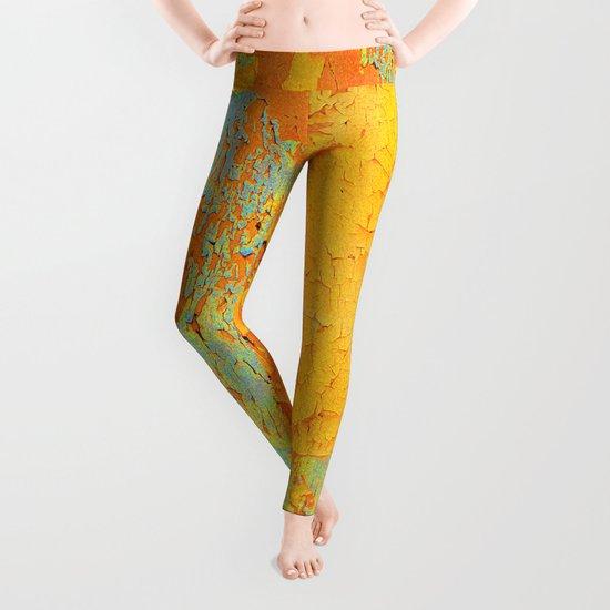 Paint texture Leggings
