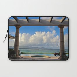 Caribbean pool Laptop Sleeve