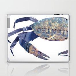 Manhole Crab with Lace Laptop & iPad Skin