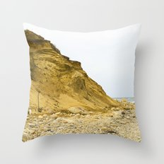 Montauk Beach Sand Dune Throw Pillow