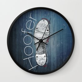 TAP DANCE: Hoofer Wall Clock