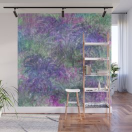 Color Leaf Explosion Abstract Wall Mural