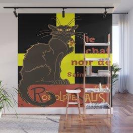 Le Chat Noir De Saint David De Rodolphe Salis Wall Mural