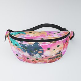cats 128 Fanny Pack
