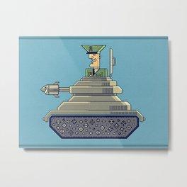 General Mayhem — cartoony vector illustration Metal Print