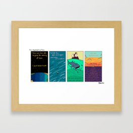 Thor Heyerdahl on Time Framed Art Print