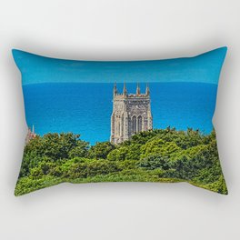 Cromer Church Tower St Peter & St Paul Norfolk Rectangular Pillow