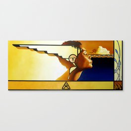 Nakeesa Canvas Print