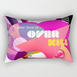 Overkill Rectangular Pillow