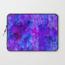 Purple crystal rain Laptop Sleeve