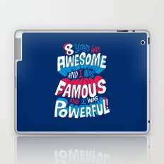 8yrs was Awesome! Laptop & iPad Skin