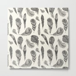 Modern Bird Metal Print