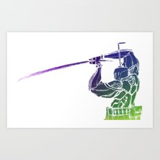 Spectral Guardian. Art Print