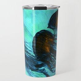 Jellyfish of the Under Sea Volcano Travel Mug