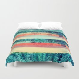 Divisions Duvet Cover