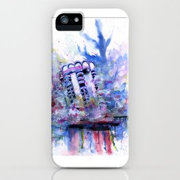Ignominy - The Destruction of the Las Vegas Sands iPhone Case