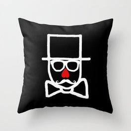 Valentines Day 2013 Collaboration with Kaviar & Cigarettes Throw Pillow