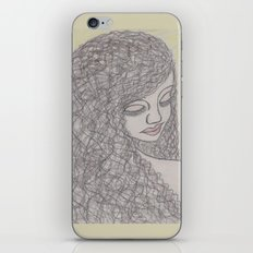 Lovely Girl iPhone & iPod Skin