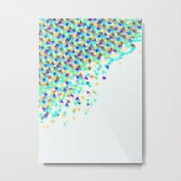 Watercolor Funfetti 2 Metal Print